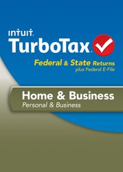 TURBOTAX INTUIT PC HOME & BUSINESS 2013 70% OFF!! SALE~BLOW-OUT $25