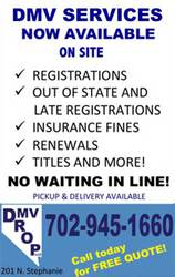 Vehicle Registration Henderson NV