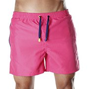 Durable Men's Pink Swim Shorts,  Trunks & Beachwear Shorts