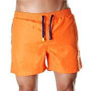 Soft & Quick Dry Men's Orange Board shorts,  Trunks & Beachwear