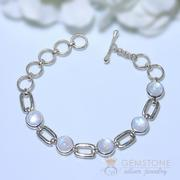 Moonstone Bracelet- New Moon