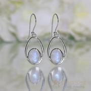 Moonstone Earring-Majestic Force