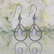 Moonstone Earring-Novel Retreat