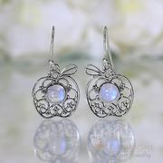 Moonstone Earring-Forbidden Fruit