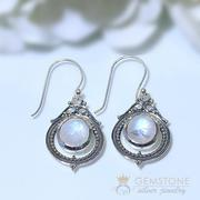 Moonstone Earring-Royal Glamour