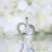 Moonstone Pendant-Cupid