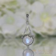 Moonstone Pendant-Lunar Pendulum