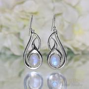 Moonstone Earring-Enchanting Aura