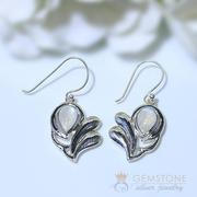 Moonstone Earring-Violet Spirit
