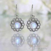 Moonstone Earring-Sublime Deity
